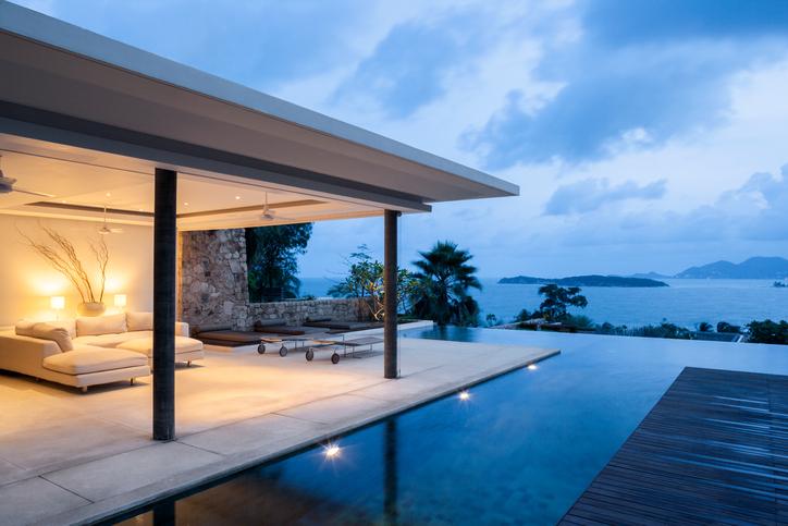 Villa privata su un'isola esotica: Luxury Travel