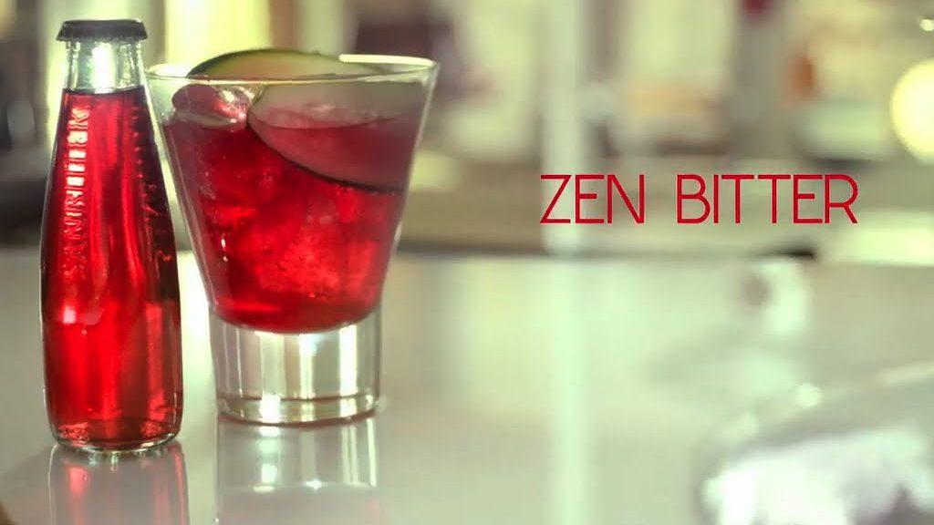 cocktail sanbittèr, spring cocktail