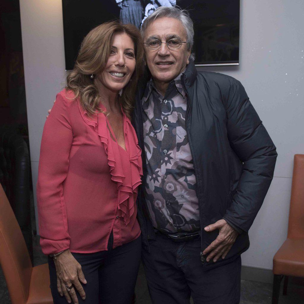 Tina Vannini e Caetano Veloso
