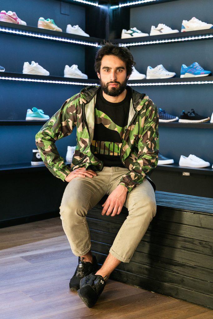 Vittorio Tomasella ha importato in Italia l'idea di una sneaker laundry