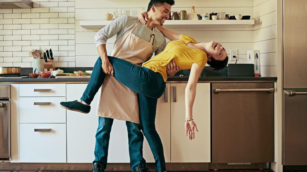 danza in cucina, la felicità