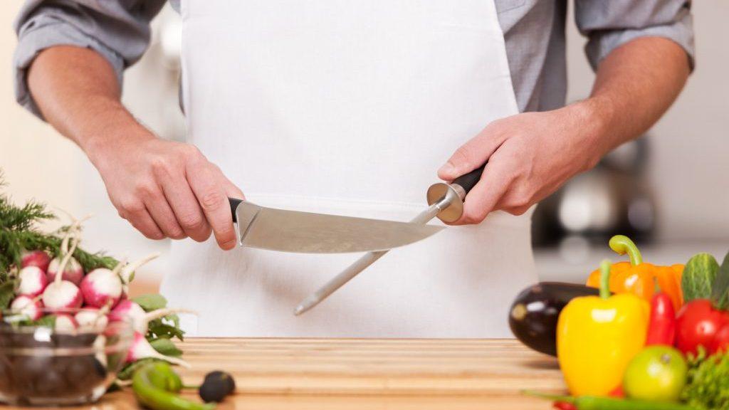 affilatura dei coltelli