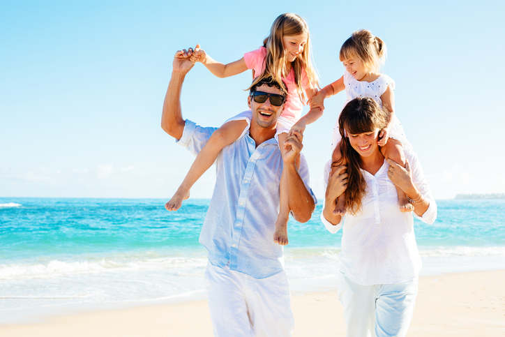 Famiglie in vacanza
