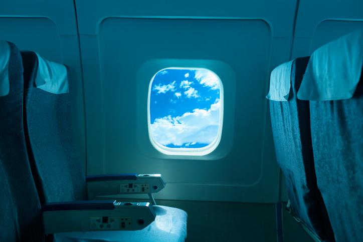 Posto all'interno di un aereo