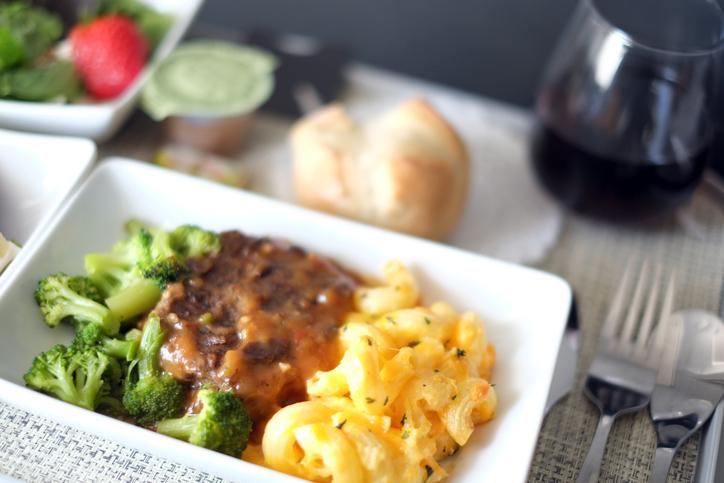 Airline food di prima classe