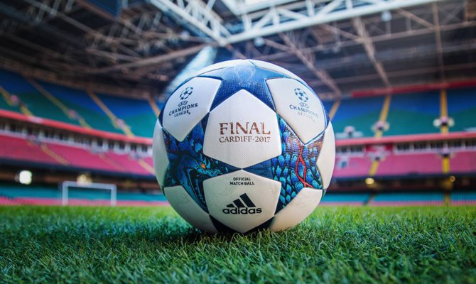 Finale di Champions Leauge 2017 a Cardiff: pallone