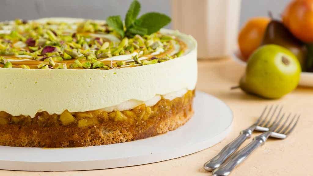Torta Ricotta E Pere Una Cheesecake Rivisitata Wwwstileit