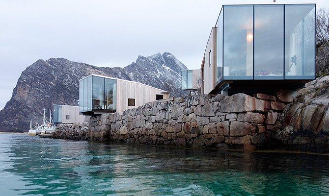 Circolo Polare: le Sea Cabin per ammirare le aquile di mare