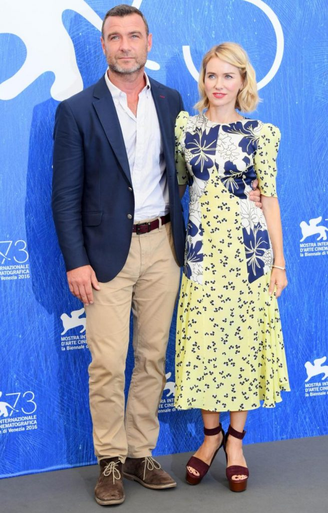 Foto LaPresse/ Gian Mattia D'Alberto 02-09-2016 Venezia spettacolo 73. Mostra internazionale d'arte cinematografica photocall del film 'The bleeder' nella foto: Liev Schreiber, Naomi Watts Photo LaPresse/ Gian Mattia D'Alberto 02-09-2016 Venice 73th Venice filmfestival 'The bleeder' photocall In the picture: Liev Schreiber, Naomi Watts