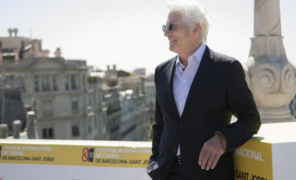 Richard Gere -  inaugurazione del primo Sant Jordi International Film Festival a Barcellona