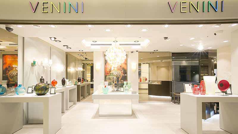 Ginza, flagship store Venini