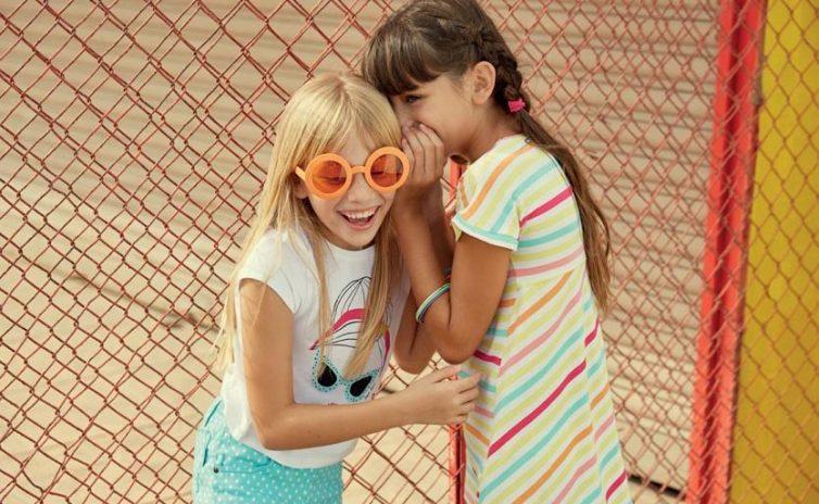 Occhiali da sole per bambini: piccoli sguardi crescono