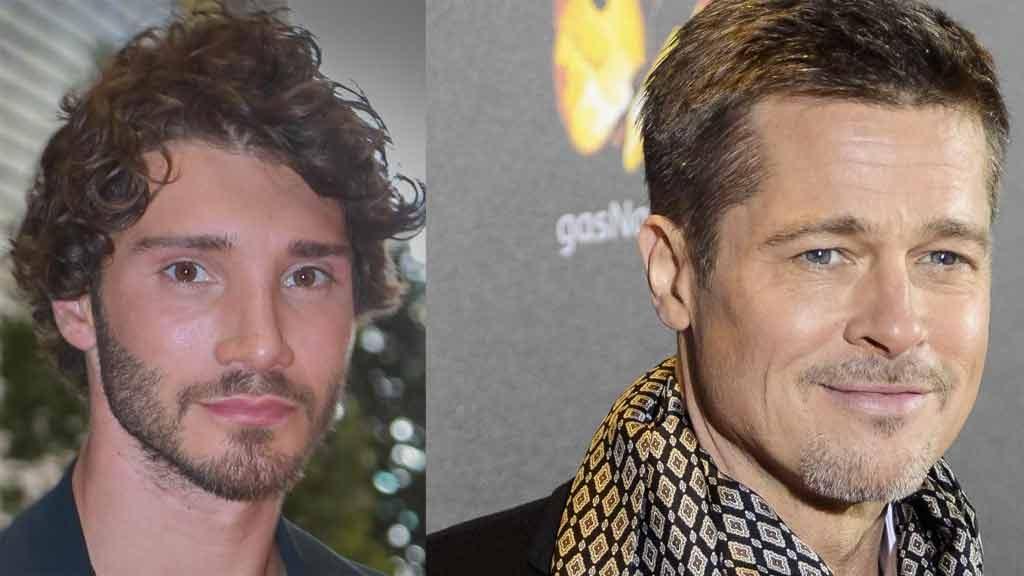 Brad Pitt e Stefano De Martino