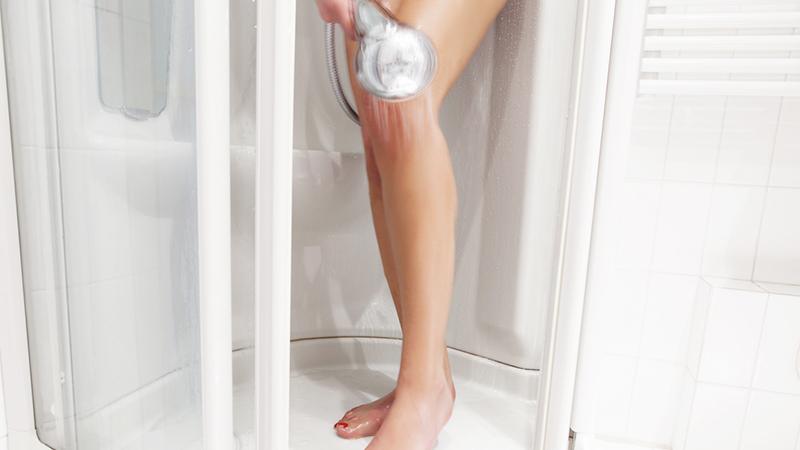 doccia, igiene intima