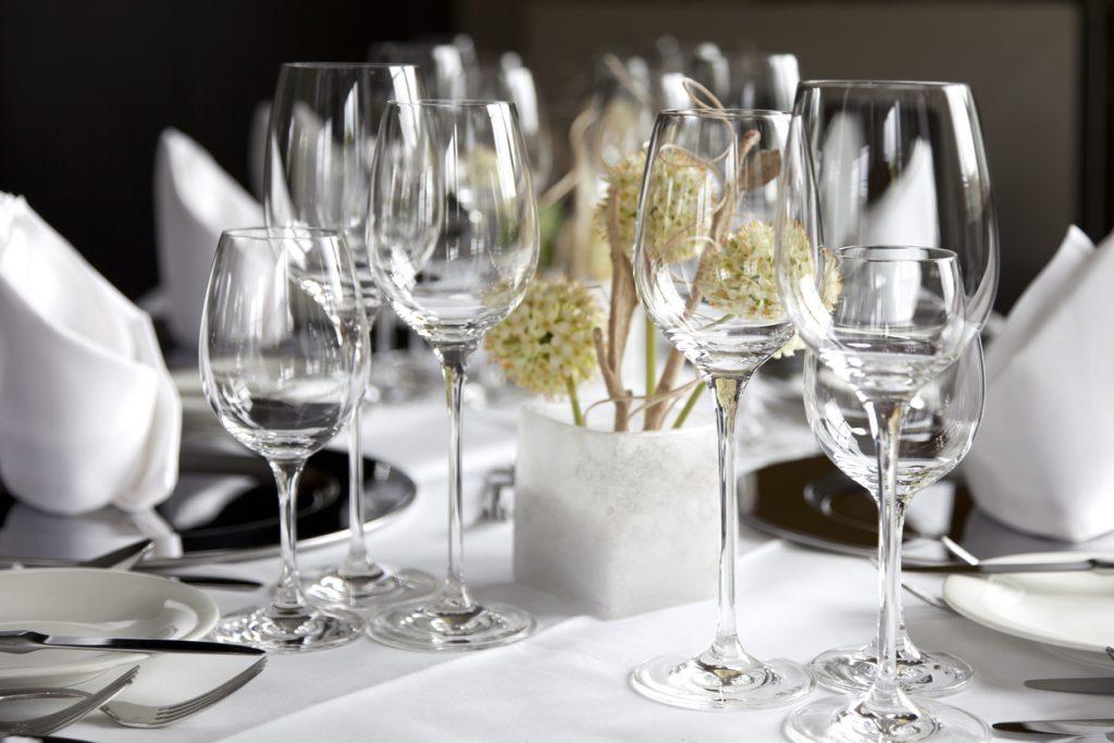 bicchieri splendenti