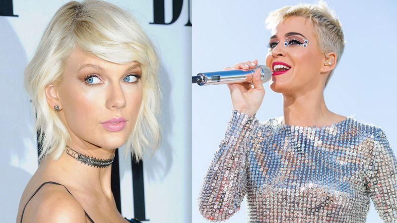 Katy Perry e Taylot Swift, nemiche-amiche