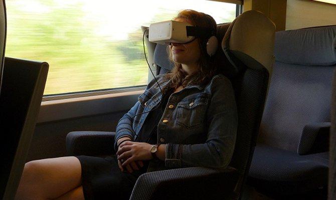 Sui Treni TGV Cinema 3D