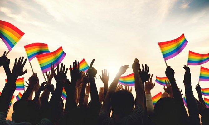 Bandiere al Pride Festival