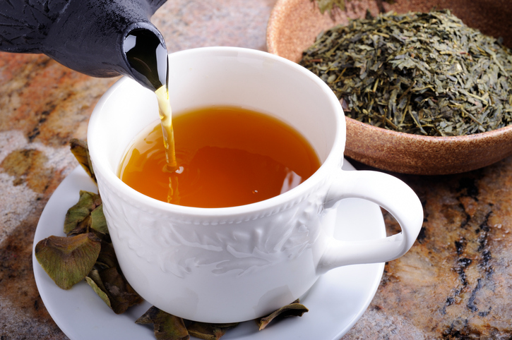 tè a tavola