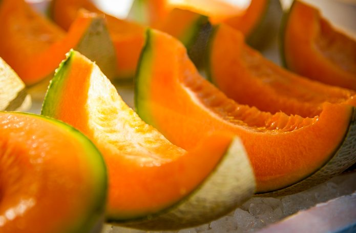 Seitan al melone, un profumato secondo vegan