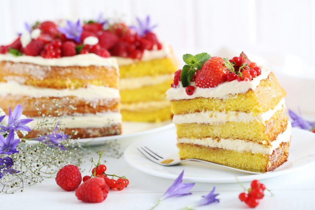 come tagliare una torta