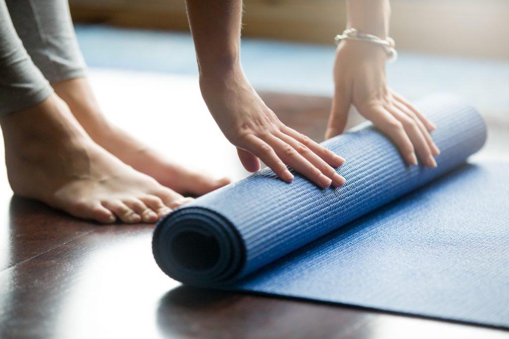 tappetino da yoga