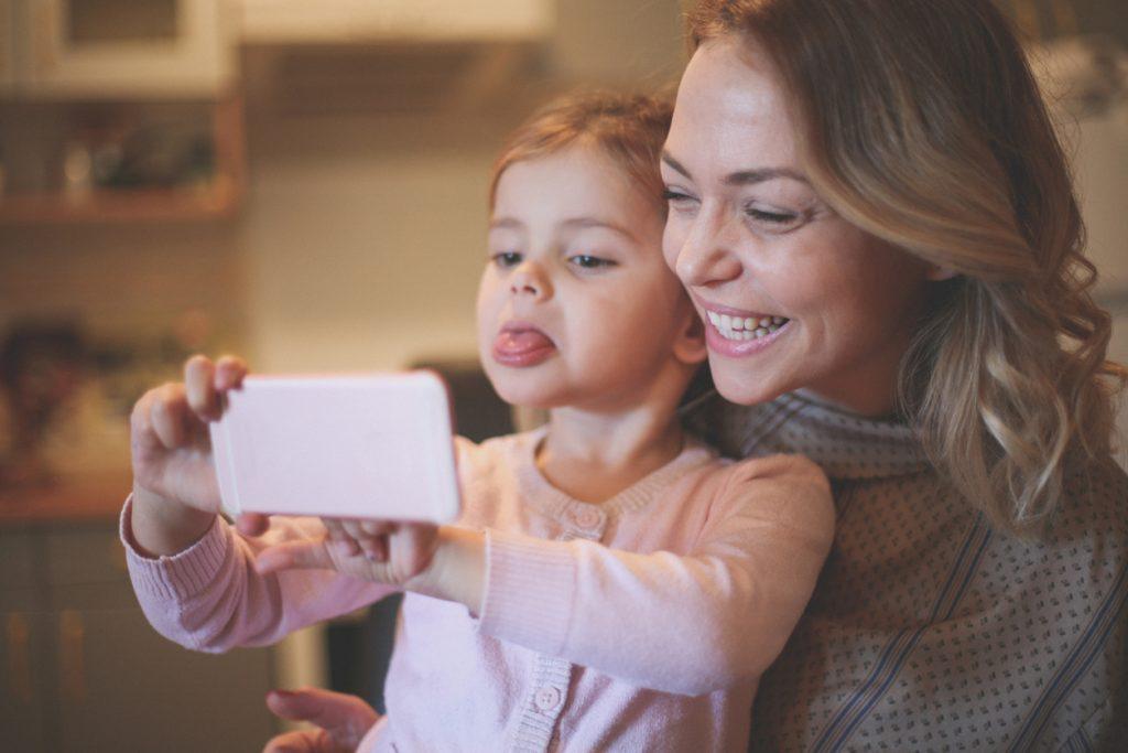 selfie ai bambini