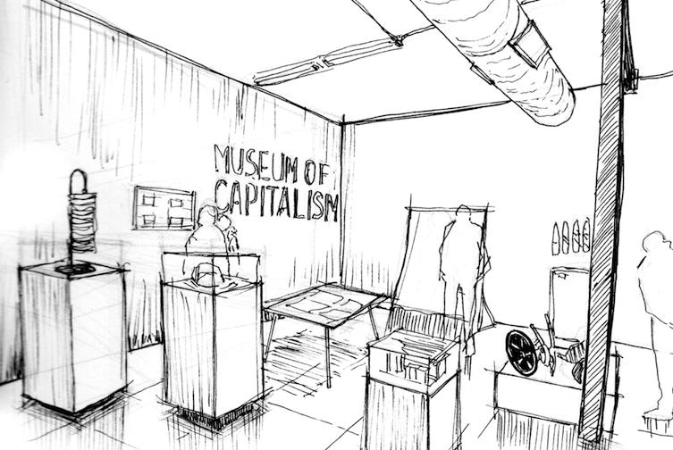 Il Museo del Capitalismo mette in scena la crisi