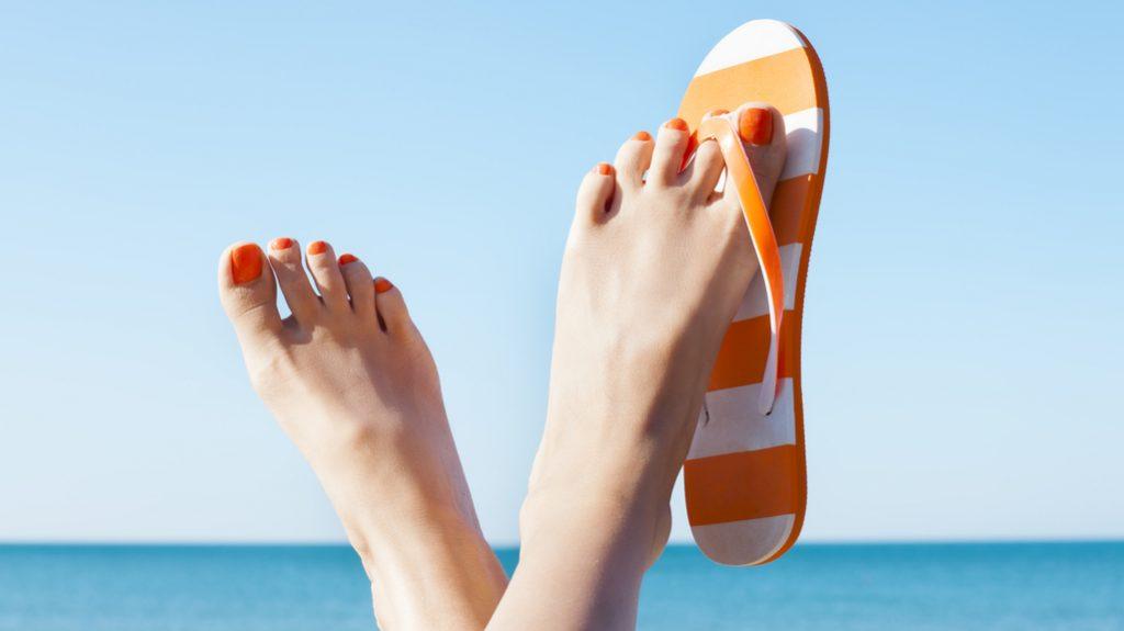 piedi, pedicure