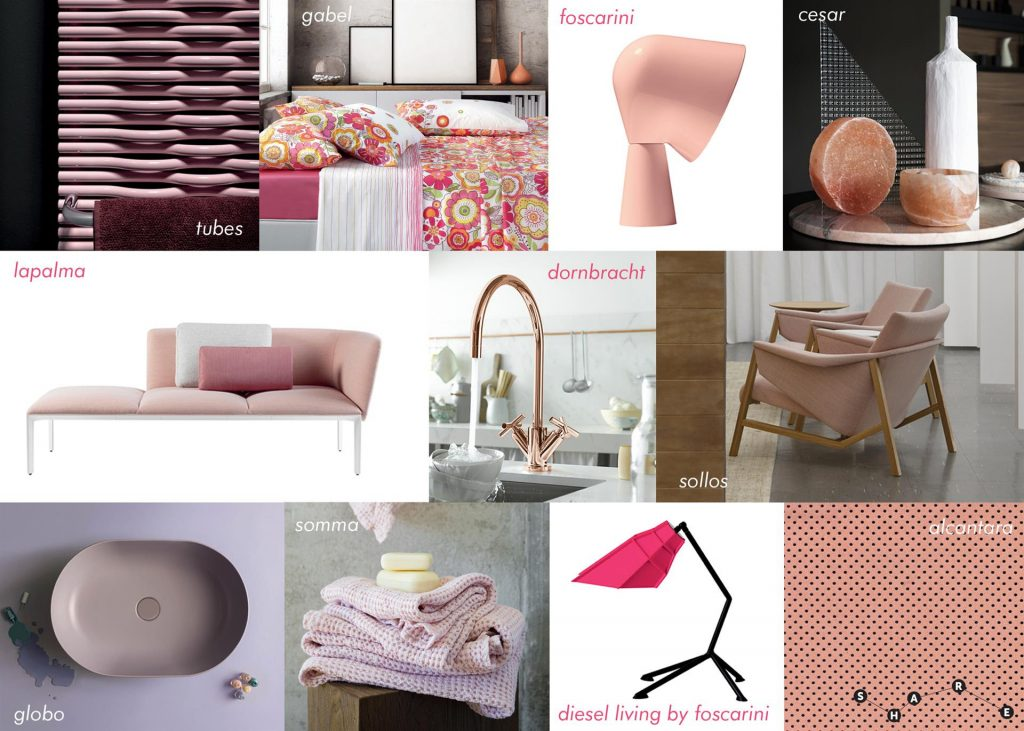 casa in rosa