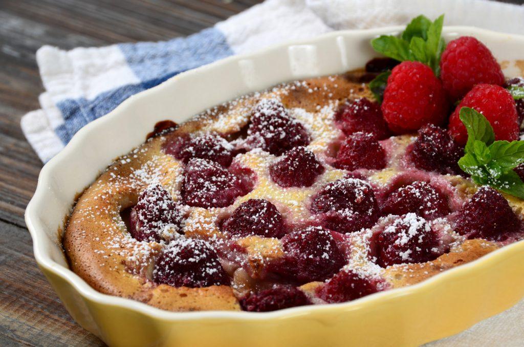 dolce ai lamponi, morbida torta