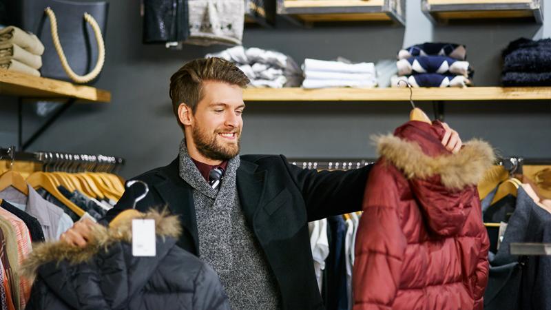 shopping maschile