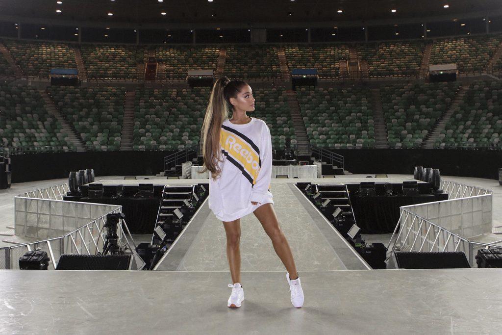 Ariana Grande per Reebok