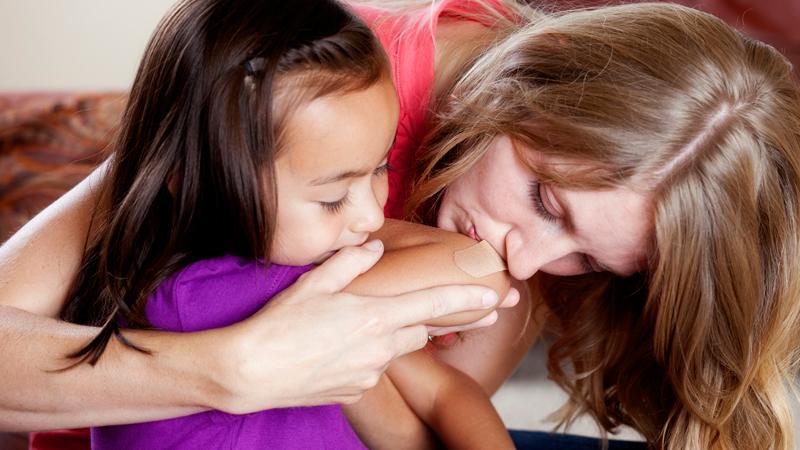 Guarire le ferite con un bacio: la ricerca