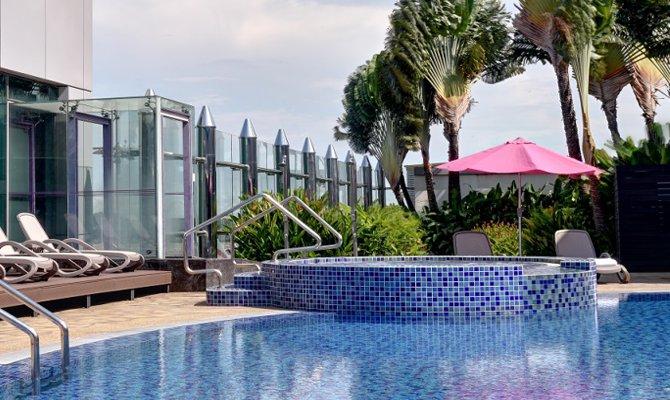 Aeroporto con piscina: la nuova tendenza vip