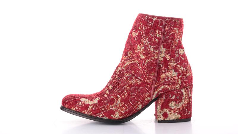 tendenza velvet, Mjus Shoes