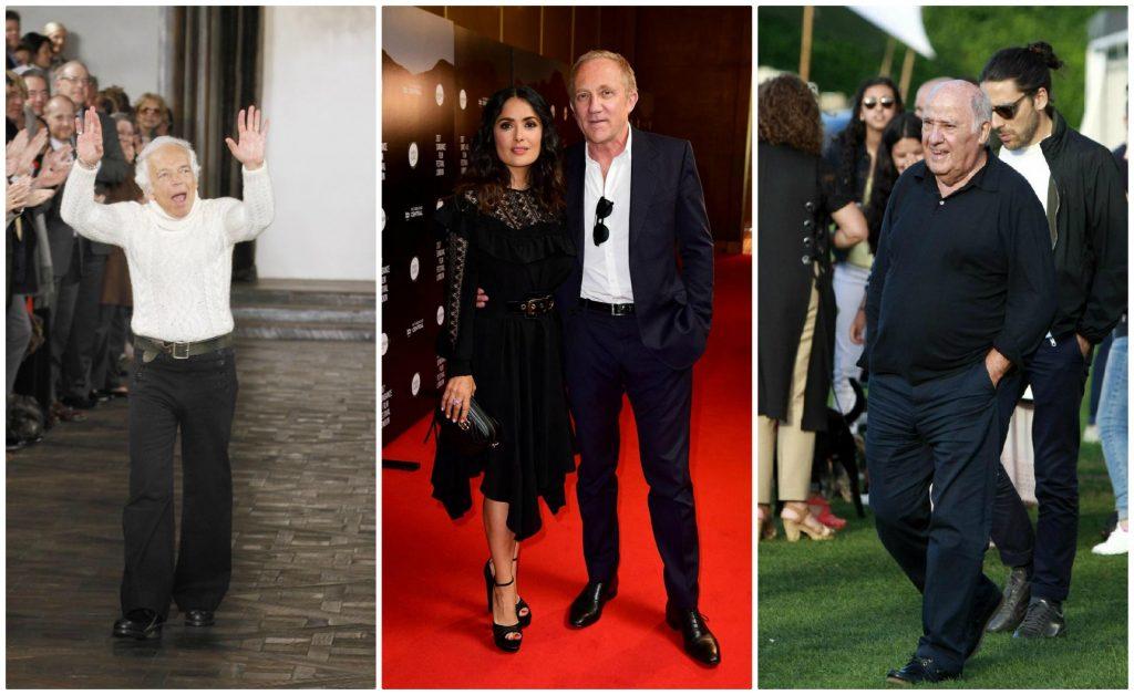 I più ricchi della moda mondiale