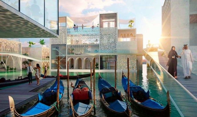 La Venezia clonata di Dubai