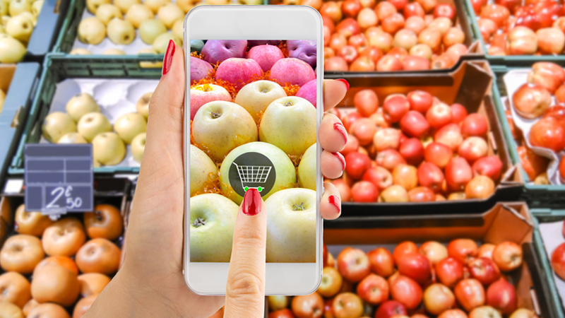 Addio supermercati, la spesa on line