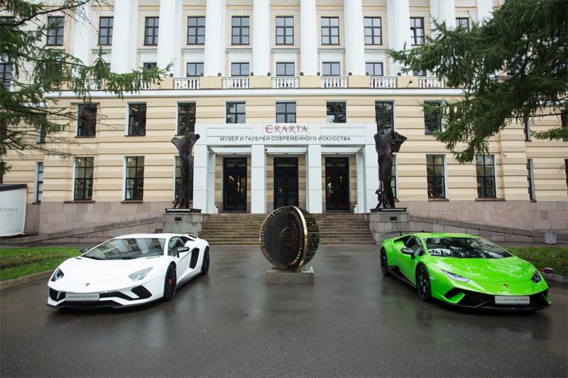 Lamborghini: stile italiano a San Pietroburgo