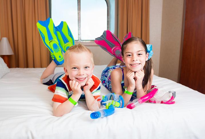 Partire con bambini a bordo di una nave da crociera