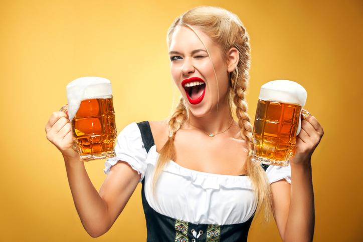 Cameriera dell'Oktoberfest