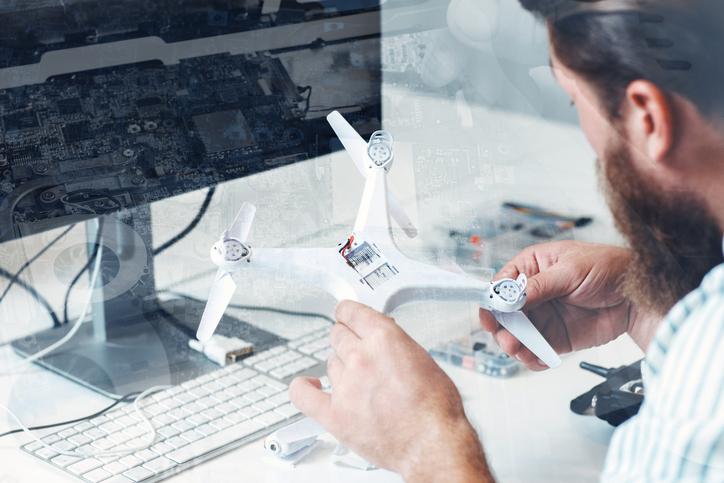 Assemblaggio di un drone