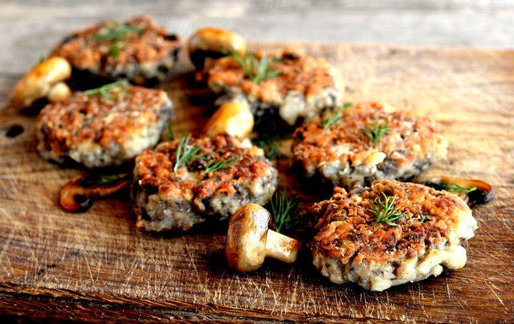 burger di funghi
