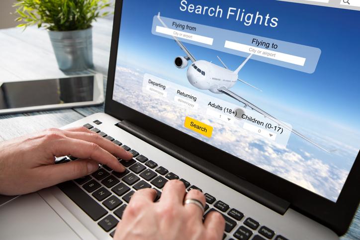 Viaggiatori moderni: prenotazioni on line dei voli
