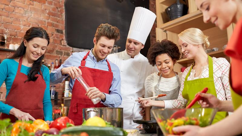 tempo libero, corsi cucina