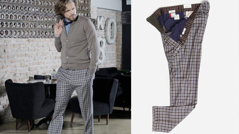 moda gentleman, pantalone maschile GTA Il Pantalone
