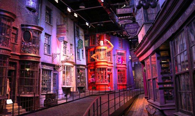 Negli studios di Harry Potter per trascorrere un Halloween speciale