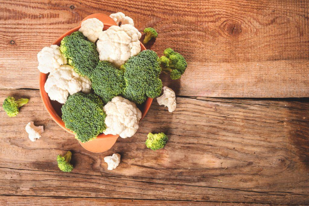 Broccoli e cavolfiori per un intestino in salute