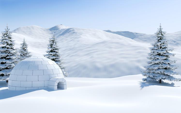 Viaggi di lusso: dormire in un igloo